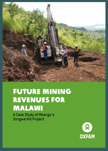 Future Mining Revenues for Malawi: A Case Study of Mkango's Songwe Hill Project