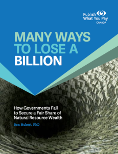 Many Ways To Lose A Billion