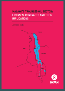 Malawi's Troubled Oil Sector: Licences, Contracts, and their Implications