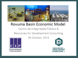 Future LNG Revenues for Mozambique: Rovuma Basin Economic Model
