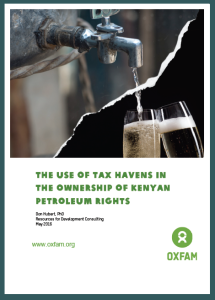 The Use of Tax Havens in the Ownership of Kenyan Petroleum Rights