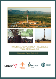 Potential Government Revenues From Turkana Oil
